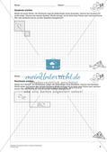 Geometrisches Zeichnen: Umfang und Flächeninhalt Preview 8