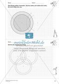 Geometrisches Zeichnen: Kreise Preview 14
