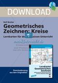 Geometrisches Zeichnen: Kreise Preview 1