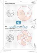Geometrisches Zeichnen: Kreise Preview 24