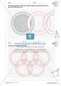 Geometrisches Zeichnen: Kreise Preview 25