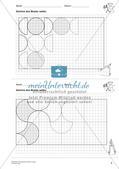 Geometrisches Zeichnen: Kreise Preview 7