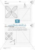 Geometrisches Zeichnen: Kreise Preview 9