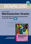 Künstlerische Miniprojekte: Mechanischer Drache Preview 1