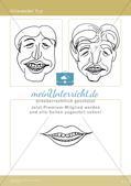 Künstlerische Miniprojekte: Karikatur-Porträt Preview 6