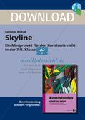 Künstlerische Miniprojekte: Skyline am Wasser Preview 1