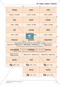 Grammatikspiele: Präpositionen, Pluralbildung, Steigerung, Fragesätze Preview 19