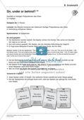 Grammatikspiele: Präpositionen, Pluralbildung, Steigerung, Fragesätze Preview 6