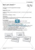 Grammatikspiele: Verben, Präpositionen und Pronomen Preview 12