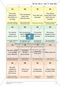 Grammatikspiele: Verben, Präpositionen und Pronomen Preview 19
