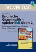 Grammatikspiele: Verben, Präpositionen und Pronomen Preview 1