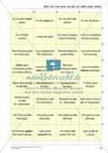 Grammatikspiele: Verben, Präpositionen und Pronomen Preview 24