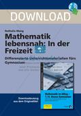 Mathematik lebensnah: In der Freizeit Preview 1