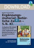 Ergänzungsmaterial: Natürliche Zahlen Preview 1