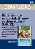 Ergänzungsmaterial: Grundrechenarten Preview 1