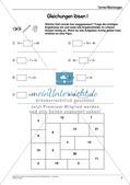 Ergänzungsmaterial: Terme und Gleichungen Preview 11