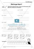 Ergänzungsmaterial: Terme und Gleichungen Preview 12