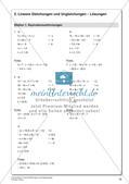 Lineare Gleichungen und Ungleichungen Preview 20