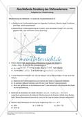 Lineare Funktionen und lineare Gleichungen Preview 18