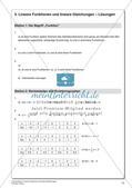 Lineare Funktionen und lineare Gleichungen Preview 19