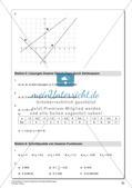 Lineare Funktionen und lineare Gleichungen Preview 22