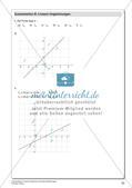 Lineare Funktionen und lineare Gleichungen Preview 25