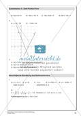 Lineare Funktionen und lineare Gleichungen Preview 26