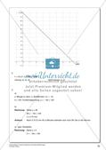 Lineare Funktionen und lineare Gleichungen Preview 27