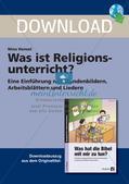 Kennenlernen des Faches Religion Preview 1