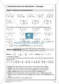 Quadratwurzeln und reelle Zahlen Preview 24