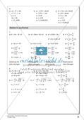Quadratische Gleichungen Preview 28