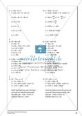 Quadratische Gleichungen Preview 30
