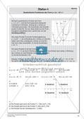 Quadratische Funktionen Preview 16
