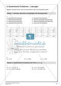 Quadratische Funktionen Preview 23