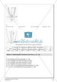 Quadratische Funktionen Preview 24