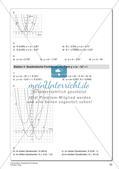 Quadratische Funktionen Preview 25