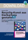 Recycling-Kunst: Gestaltung mit Eierkartons Preview 1