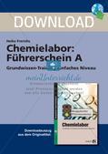 Chemielabor: Führerschein Grundwissen einfaches Niveau Preview 1