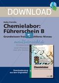 Chemielabor: Führerschein Grundwissen mittleres Niveau Preview 1