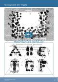 Künstlerische Miniprojekte: Monogramm Preview 6