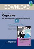 Künstlerische Miniprojekte: Cupcake Preview 1