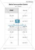 Ergänzungsmaterial: Terme & Gleichungen Preview 10