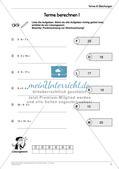 Ergänzungsmaterial: Terme & Gleichungen Preview 14