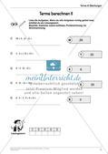 Ergänzungsmaterial: Terme & Gleichungen Preview 15