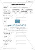 Ergänzungsmaterial: Terme & Gleichungen Preview 20