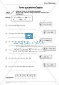 Ergänzungsmaterial: Terme & Gleichungen Preview 7
