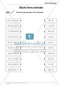 Ergänzungsmaterial: Terme & Gleichungen Preview 8