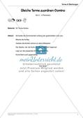 Ergänzungsmaterial: Terme & Gleichungen Preview 9