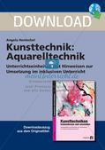 Kunsttechniken: Aquarelltechnik Preview 1