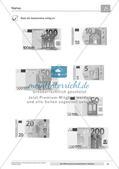 Die Währung Euro kennenlernen: Scheine Preview 16
